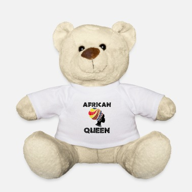 South Africa African Queen - Black history month - Teddy Bear