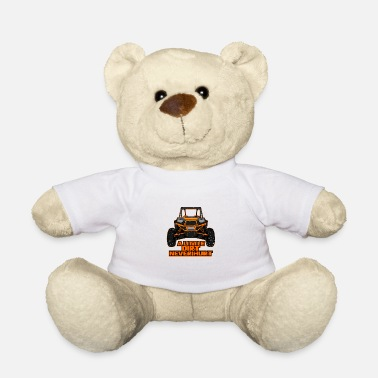 Utv UTV ATV Quad dirt soil sxs motorsport virtue gift - Teddy Bear