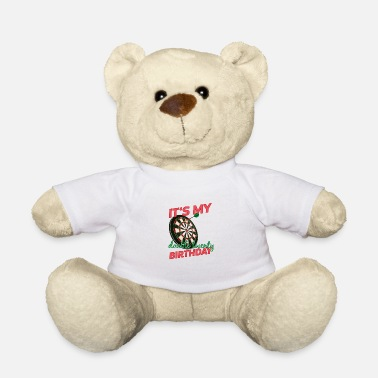 Dart darts player fortieth birthday gift - Teddy Bear