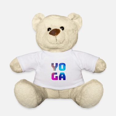 Color Yoga colorful colorful colored - Teddy Bear