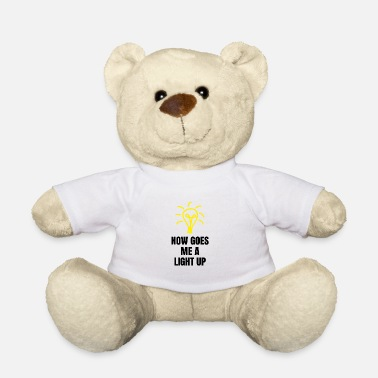Denglisch Now Goes Me A Light Up Electrician Funny - Teddy Bear