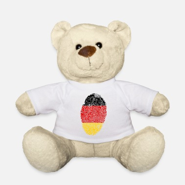 Imprint Imprint Germany Imprint with the flag Germany - Teddy Bear