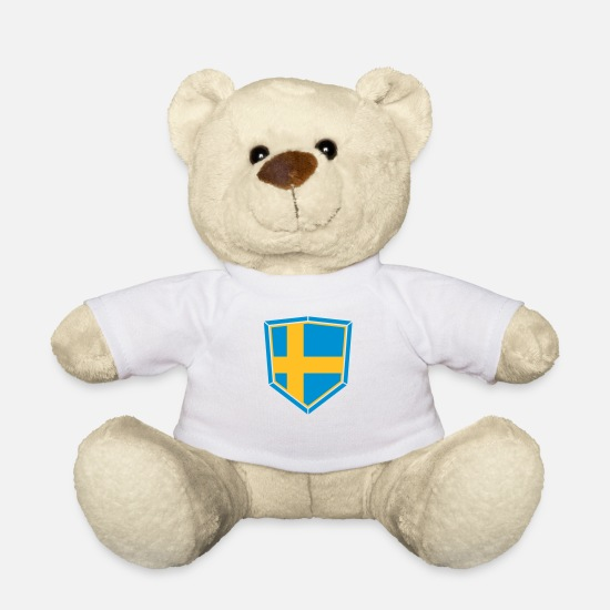 Turtle Teddy Bear Toys - sweden sweden shield banner coat of arms torchuss gate - Teddy Bear white