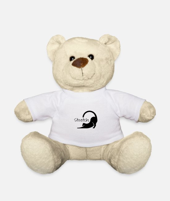 Hipster Teddy Bear Toys - Stretch - Teddy Bear white