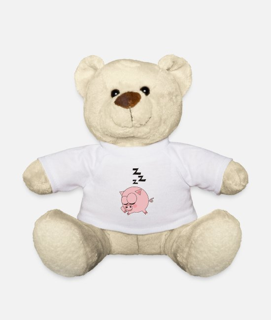 Hog Teddy Bear Toys - Piggy - Teddy Bear white