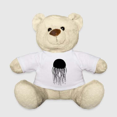 Jellyfish jellyfish medusa aquatic animal sea water - Teddy Bear