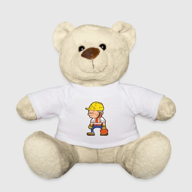 Trowel Construction worker building site building construction craftsman - Teddy Bear