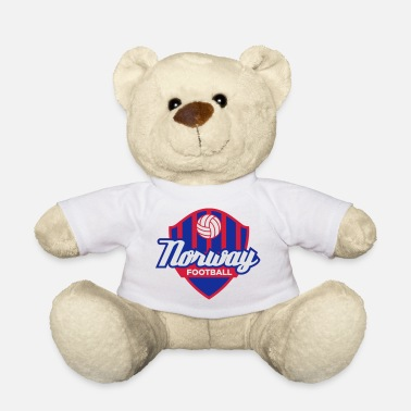 Mandapeno Norway Football Emblem (3c, NEU) - Teddy Bear