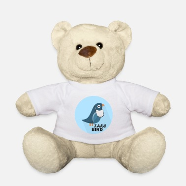 Officialbrands Fake News Bird T-Shirt - Teddy Bear