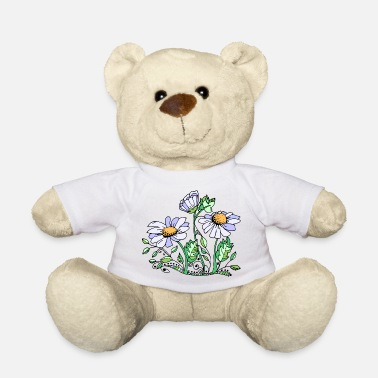 Leaf flowers - Teddy Bear