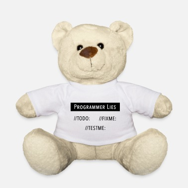 Java Eat Sleep Developers Coding Sayings Humor Gift - Teddy Bear