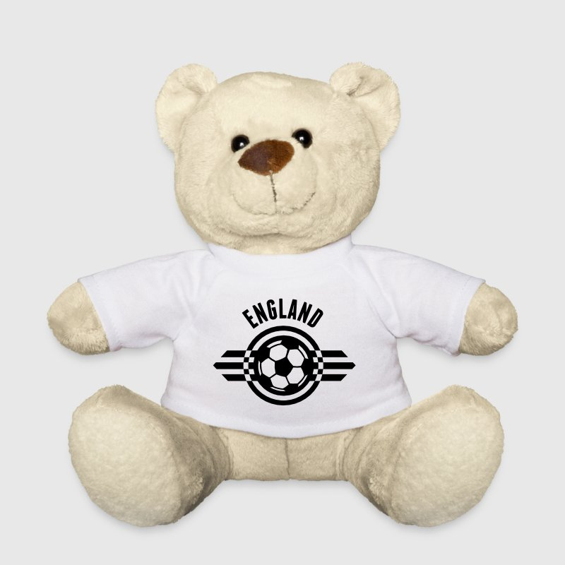 england / three lions badge ii 1c - Teddy Bear