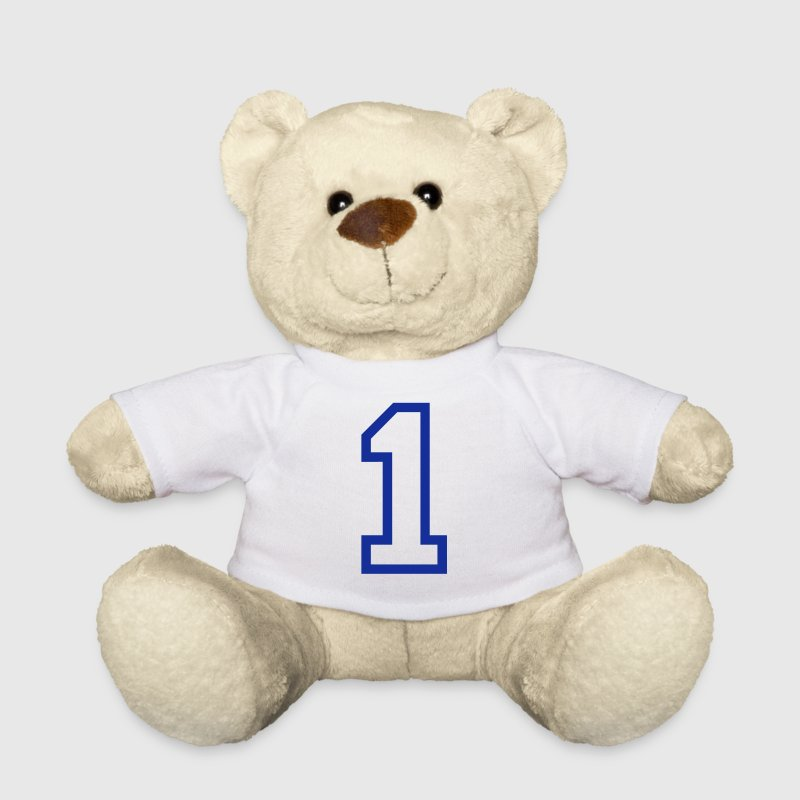 THE NUMBER 1-ONE - Teddy Bear