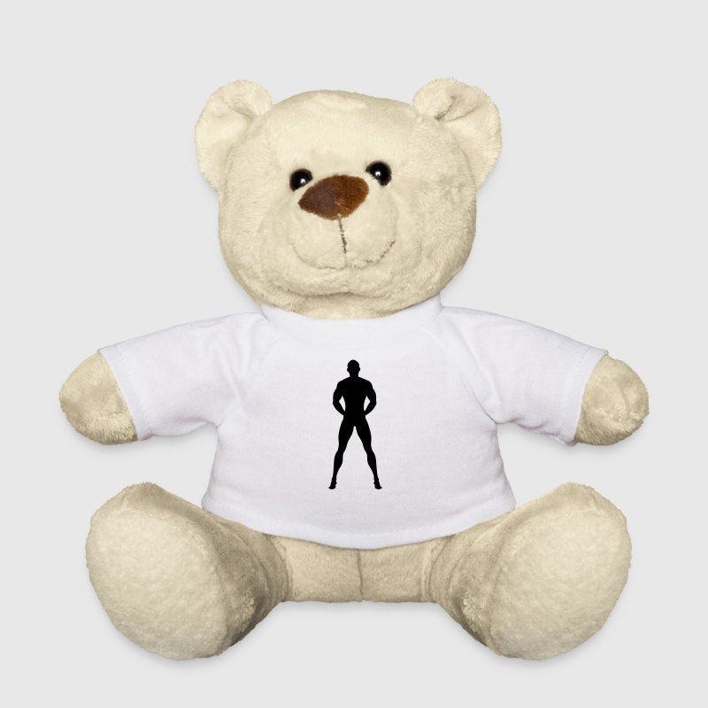 Naked and Muscular man - Teddy Bear