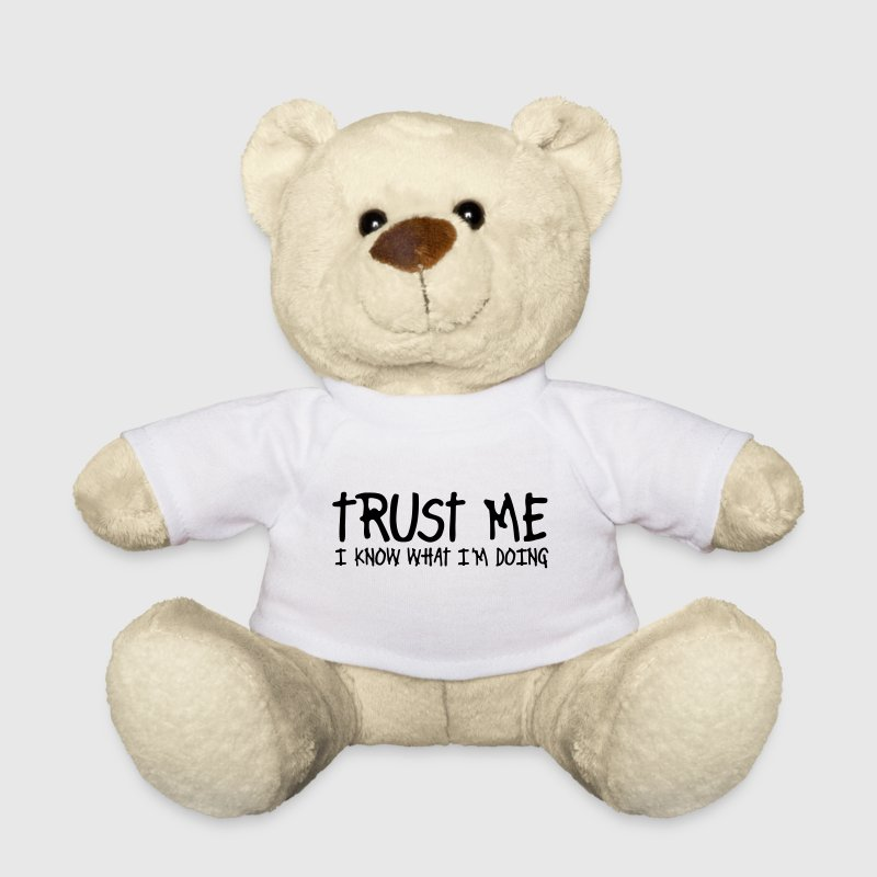 trust me i know what I am doing - Teddy Bear