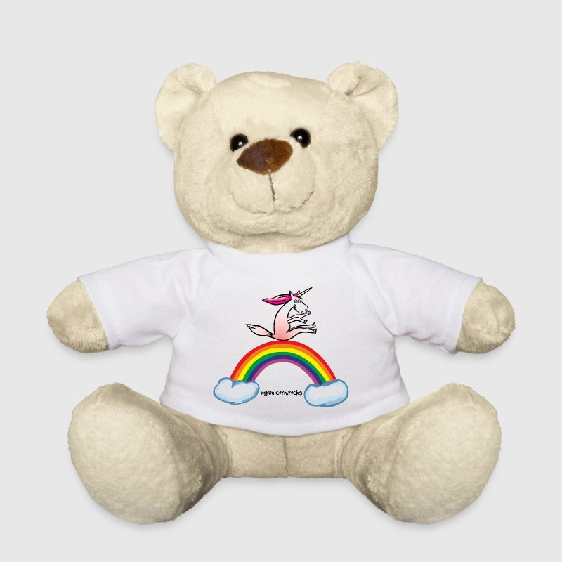 Unicorn on rainbow - Teddy Bear