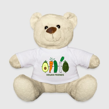 Vegetable vegan friends - Teddy Bear