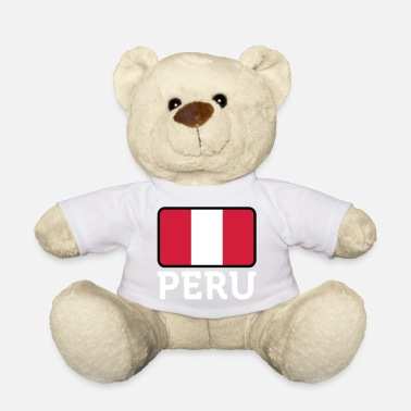 Lima National Flag Of Peru - Teddy Bear