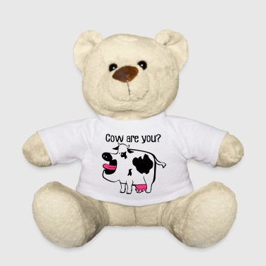 Cash Cow Cow are you? - Teddy Bear