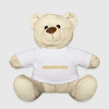 alphabet - Teddy Bear