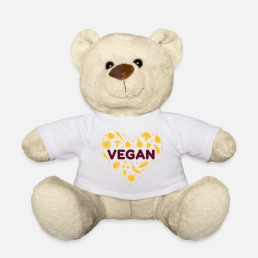 Vegan heart - Teddy Bear