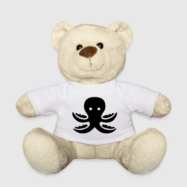 Octopus octopus aquatic sea creatures ocean - Teddy Bear