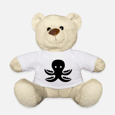Aquatic Octopus octopus aquatic sea creatures ocean - Teddy Bear