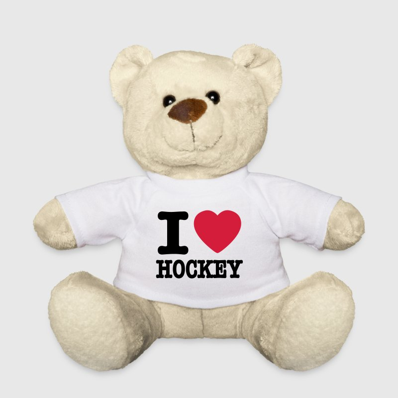 i love hockey - Teddybjørn
