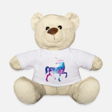 Unicorn with constellation design - Teddy Bear