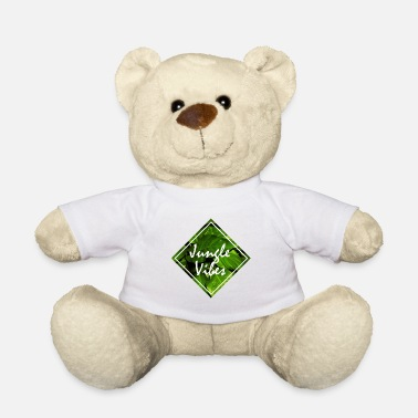 Jungle jungle vibes jungle jungle leaves - Teddy Bear