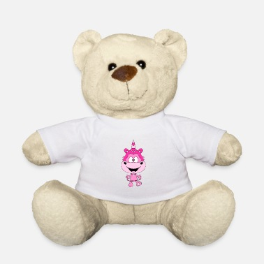 Funny Unicorn Funny unicorn - unicorn - - Teddy Bear