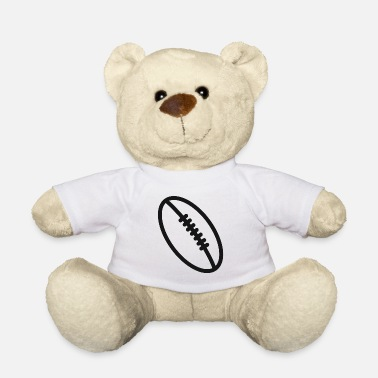 Sports Rugby team football fan rugby team american football - Teddy Bear