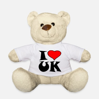 Uk Uk - I love UK - i love UK - Teddy Bear