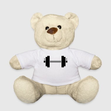 Dumbbell Dumbbell for weight training - Teddy Bear