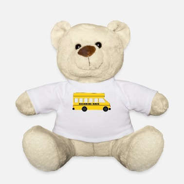 School Bus School bus - Teddy Bear