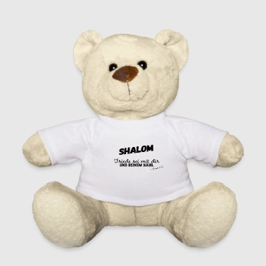 Shalom Peace be with you and your house -> Bible - Teddy Bear