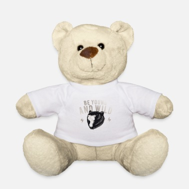 Sauvage sauvage - Ours en peluche