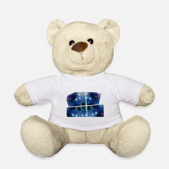 Space Ship Teddy Bear Toys - Alien Ship - Teddy Bear white