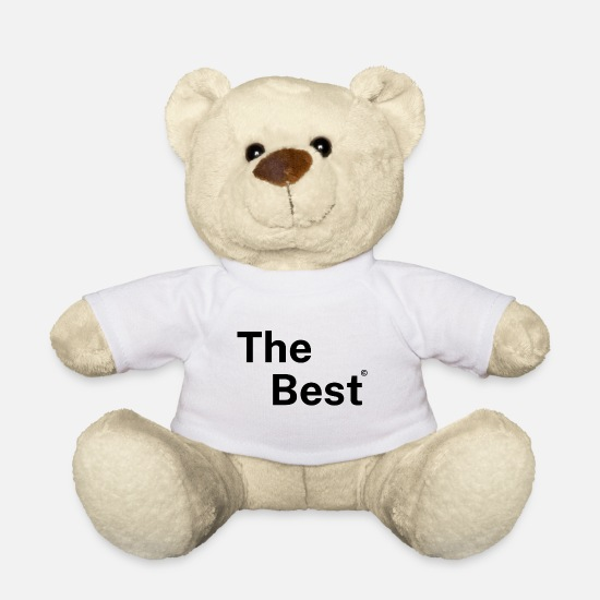 Gift Idea Teddy Bear Toys - The Best - Teddy Bear white