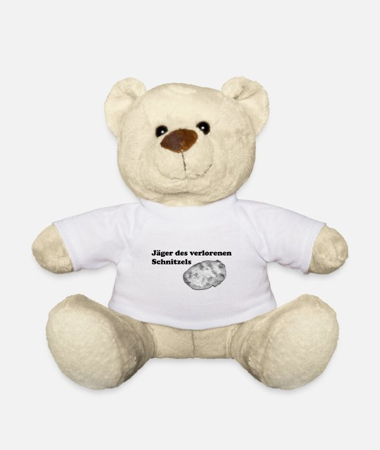 Wacky Teddy Bear Toys - Huntsman of the lost schnitzel scavenger hunt - Teddy Bear white