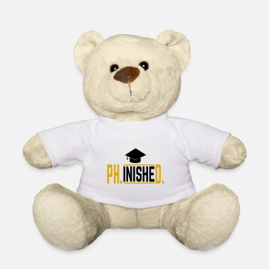 Graduation Phinished Phd Doctor Graduation Gift - Ours en peluche