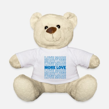 Skatt Love More Love Peace Freedom Gift - Bamse