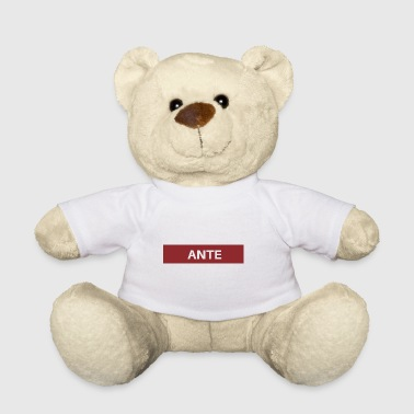 ante - Teddy Bear