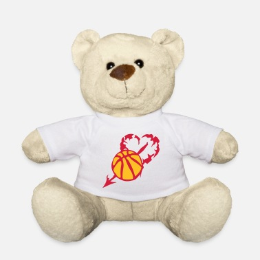 Persia basketball heart love persia fleche - Teddy Bear