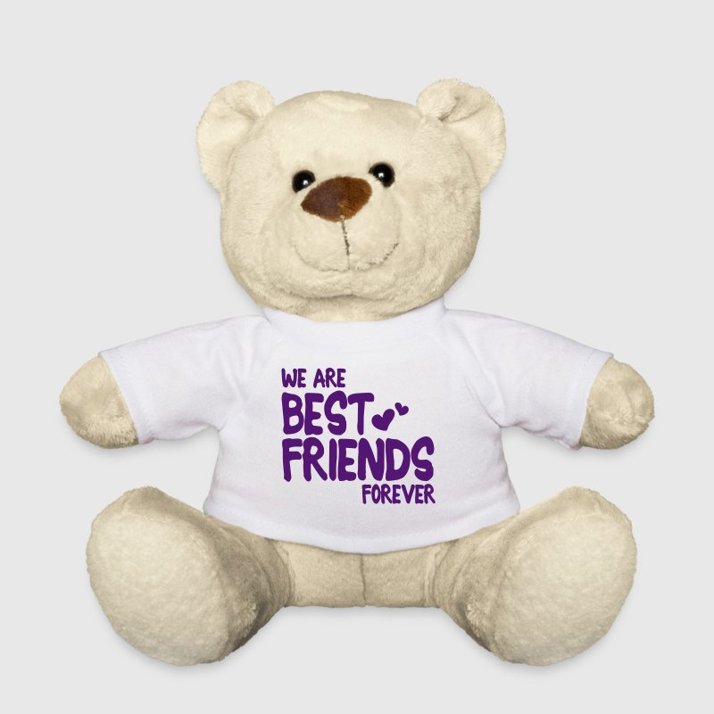 we are best friends forever i 1c - Osito de peluche