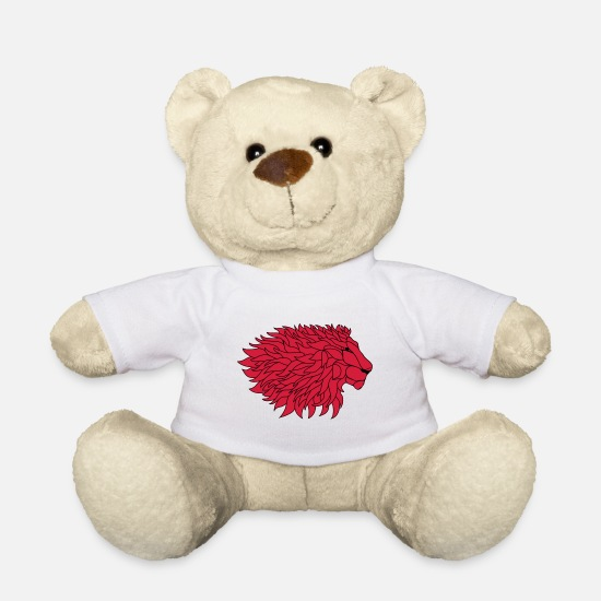 Nature Teddy Bear Toys - Lion mane - Teddy Bear white
