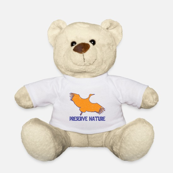 Gift Idea Teddy Bear Toys - Preserve Nature Gift - Teddy Bear white