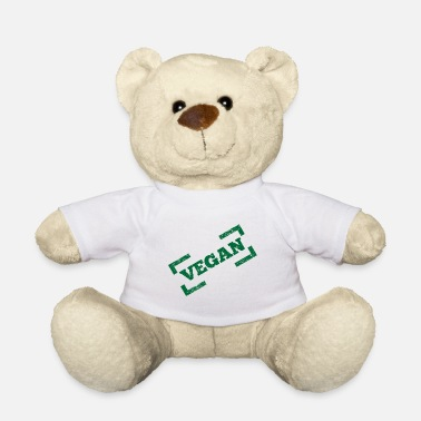 Meatless Vegan Meatless Healthy Gift - Teddy Bear
