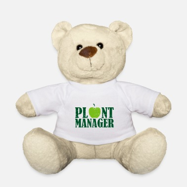 Cool Ordspil Plant Manager Mother Earth Vegan siger gave - Bamse