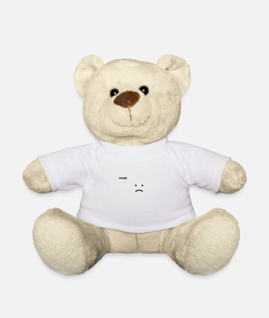 Mood Teddy Bear Toys - Mood - Teddy Bear white